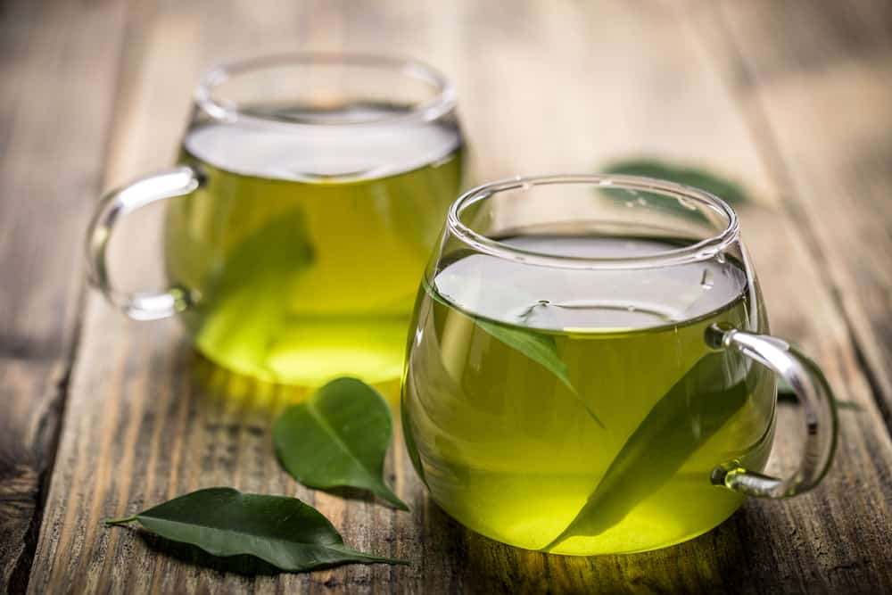 green tea for thick hair