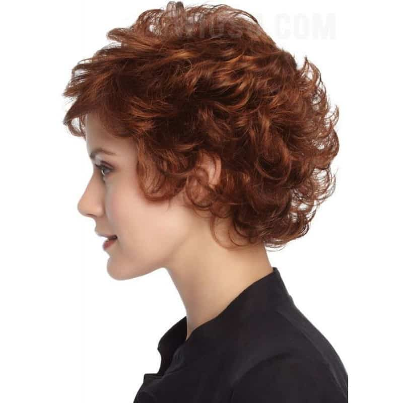 Short Curly Haircuts hair color trend