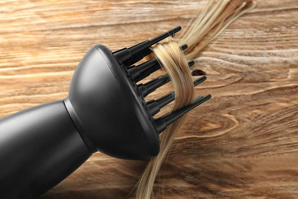 Blow dry your hair with a diffuser