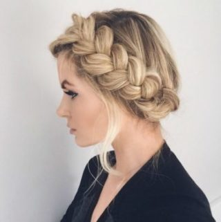 10 Pretty Braided Hairstyles For Curly Hair