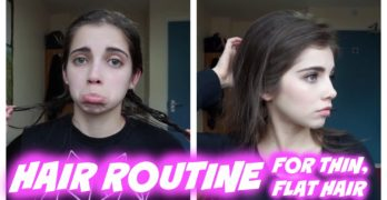 Hair Care Routine for Thin Hair