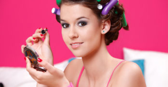 How to Curl Hair with Rollers