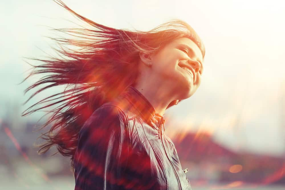 air dry your hair