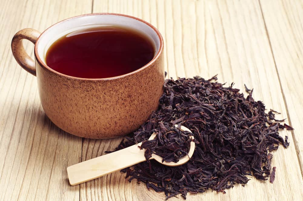 black tea for grey hair