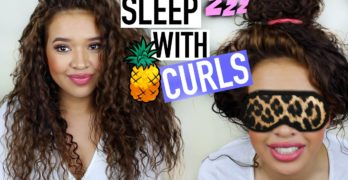 Tips on How to Sleep with Curls