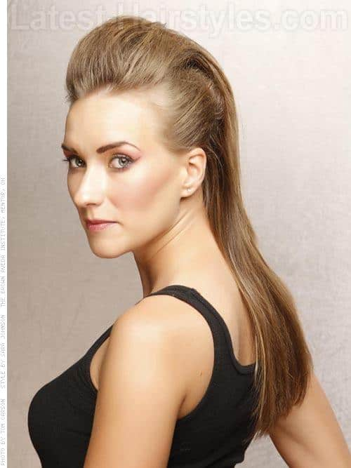 Easy Homecoming Hairstyles For Straight Hair : Before the big dance prom hairstyles for curly hair half up down