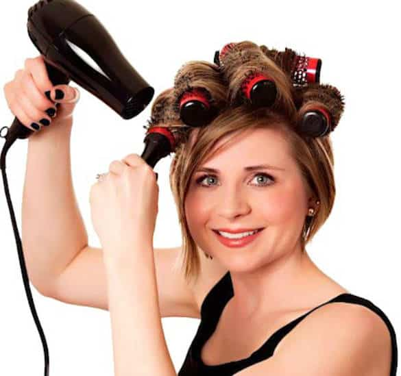 styling hair with rollers how to roll with hair rollers defining a style that s 7248