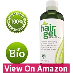Sexy Hair Gel A Natural Hair Styling Texturizer for Straight Wavy or Curly Hair