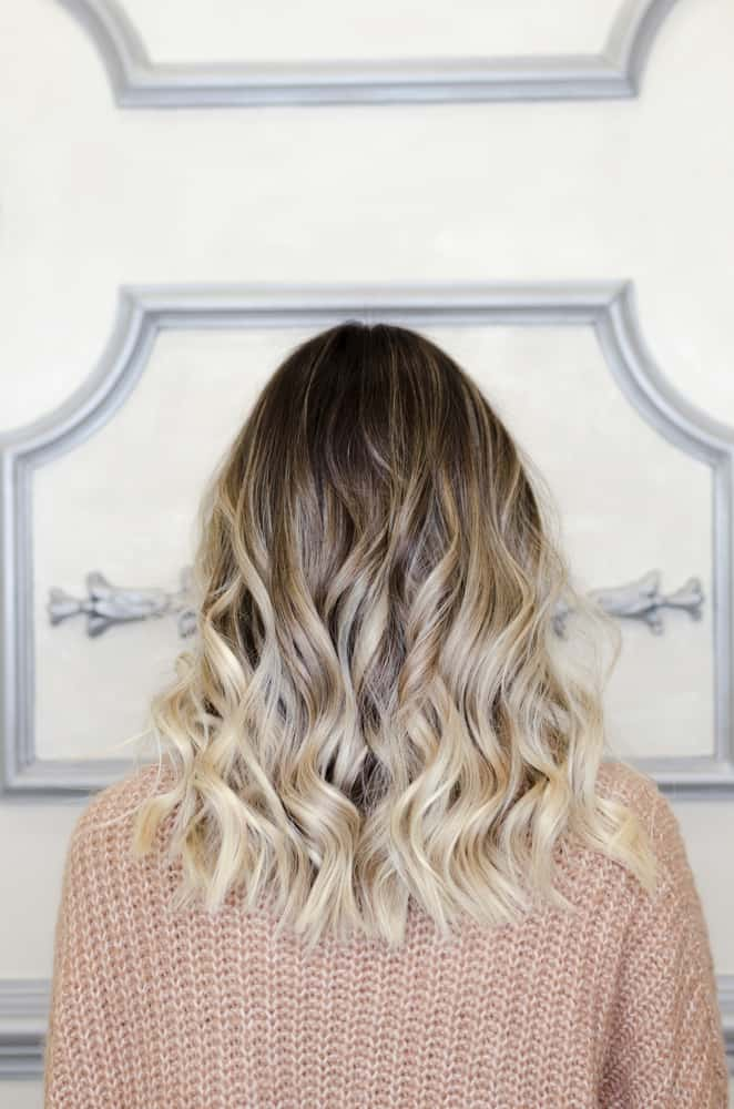 at your fourties use balayage