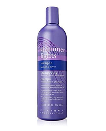 Clairol Professional Shimmer Lights Blonde & Silver Shampoo
