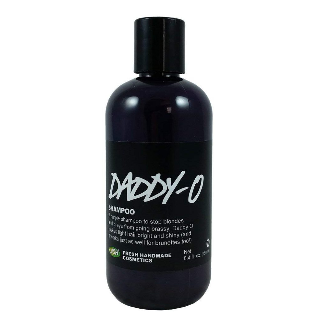 Lush Daddy-o Purple Shampoo for Blonde or Grey Hair
