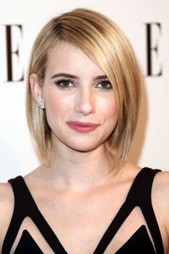 Celebrities Best Short Straight Hairstyles Say Goodbye To Plain Jane